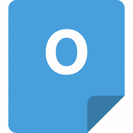data, document, file, open, outlook icon