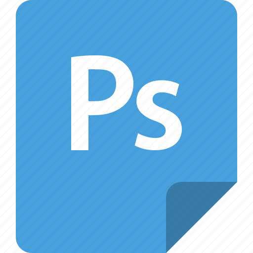 application, document, file, format, photoshop, ps icon