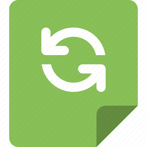 data, file, folder, format, refresh icon