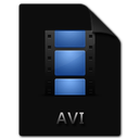 avi, file, film, movie, video icon