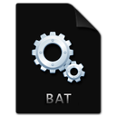bat, file icon