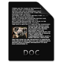 doc, document, docx, file icon