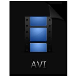 avi, file, film, movie, video icon