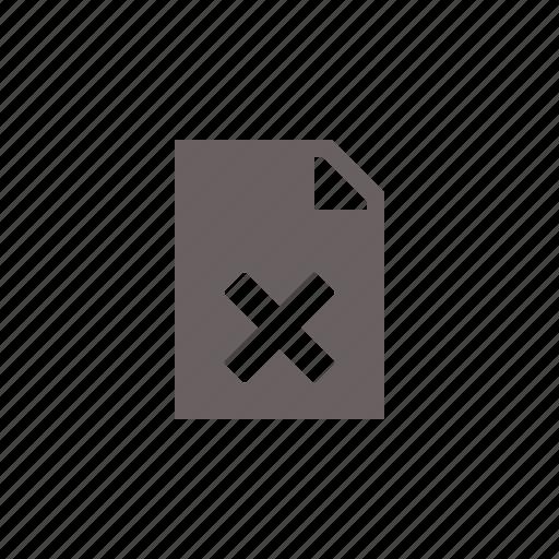 corrupt, file icon