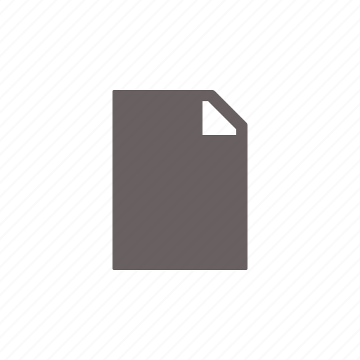 blank, empty, file icon