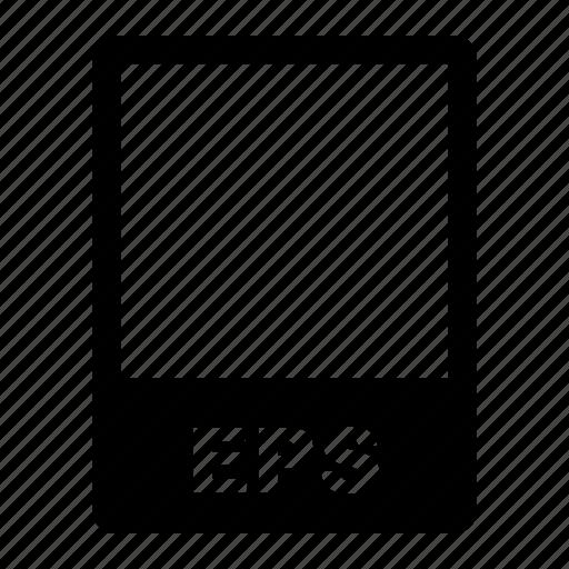 data, data format, eps, file, file format, filetype, format icon