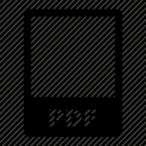data, data format, file, file format, filetype, format, pdf icon