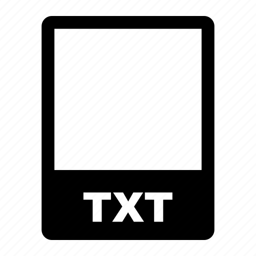 data, data format, file, file format, filetype, format, txt icon