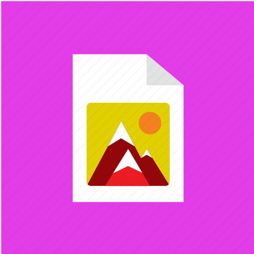 extension, file, filetype, format icon
