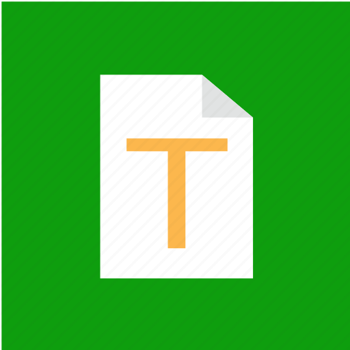 document, extension, file, filetype icon