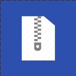 extension, file, filetype, format, rar, zip icon