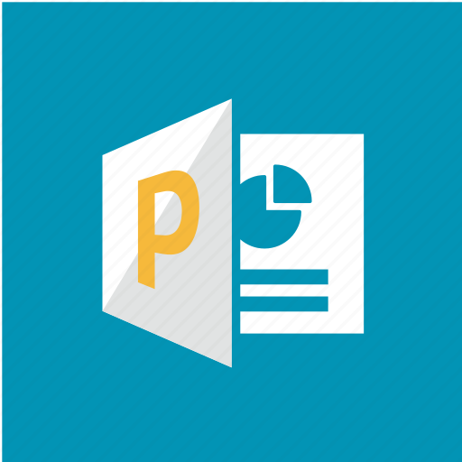 extension, filetype, format, powerpoint icon