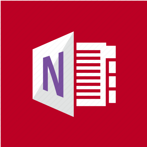 extension, filetype, format, onenote icon