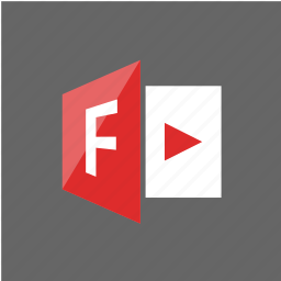 adobe, filetype, flash, player, software icon