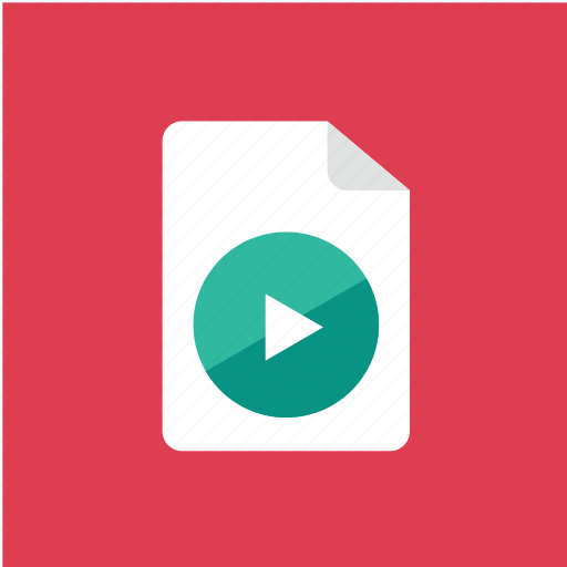 Filetype, extension, file, format, video icon - Download on Iconfinder