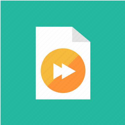 extension, filetype, format, forward icon