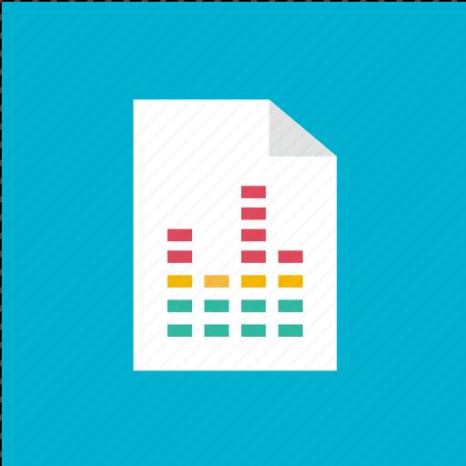 extension, filetype, format, wav icon