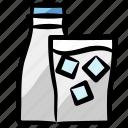 ice milk, milk, fresh, healthy diet, beverage