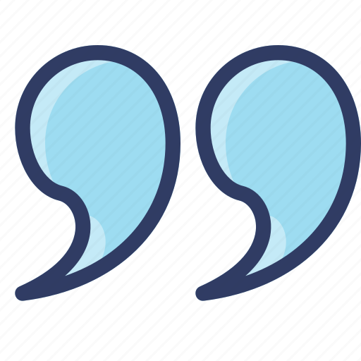 action, left, quote, saying, speech icon