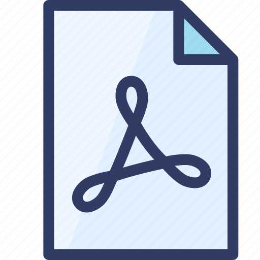 action, document, file, pdf, readonly icon