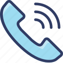 action, calling, contact, phone, ringing icon