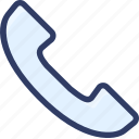 action, call, contact, device, phone icon
