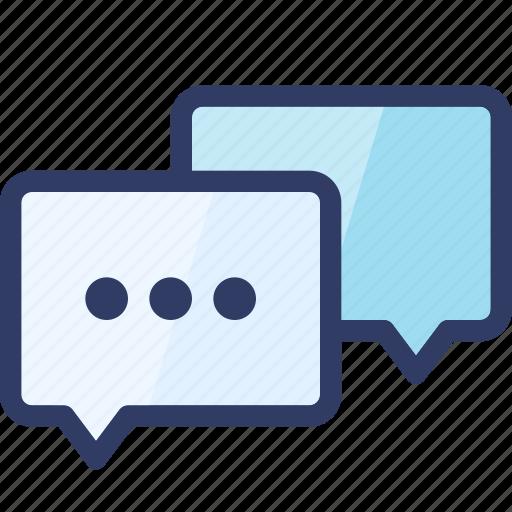 action, bubble, chat, conversation, message, talk icon
