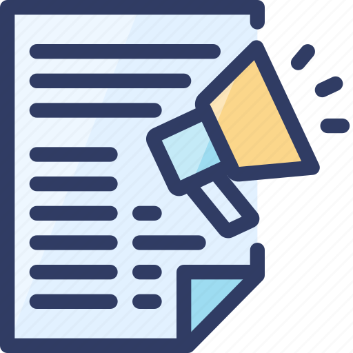 article, email, mail, marketing, news, newsletter, seo icon