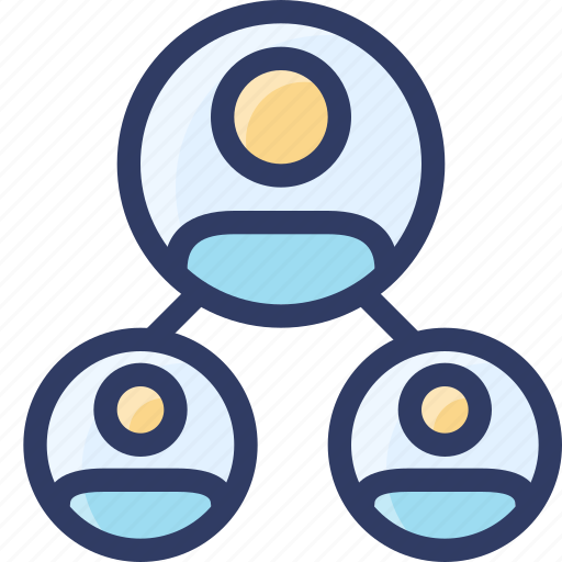audience, hierachy, marketing, seo, users icon