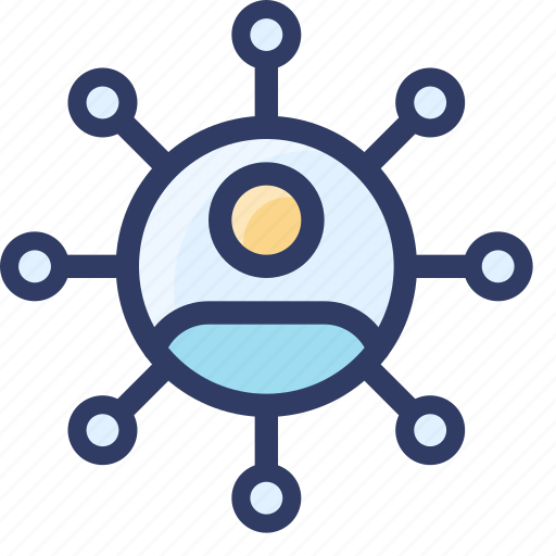 affiliate, seo, sharing, social, user icon