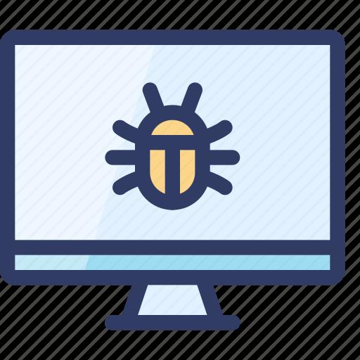 bug, code, computer, fix, problem, seo icon
