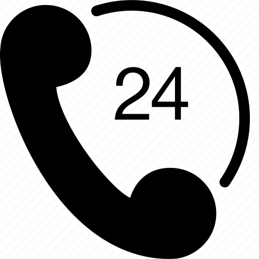 call, phone, phone 24, srvice icon