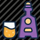 alcohol, restaurant, drink, element, brandy, beverage icon
