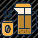 coffee, restaurant, tea, drink, element, hot, beverage icon