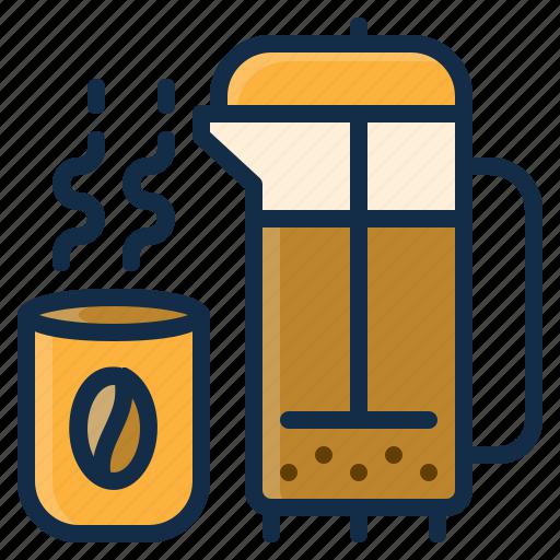 beverage, coffee, drink, element, hot, restaurant, tea icon