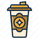 beverage, coffee, drink, home, restaurant, take, tea icon