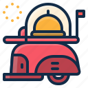 delivery, element, food, restaurant, service icon