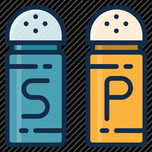 element, food, garnish, pepper, restaurant, salt icon