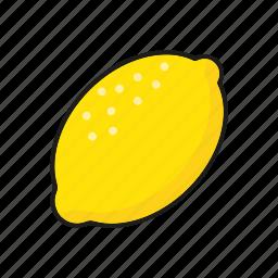 food, fresh, fruit, lemon, sour icon