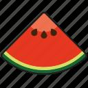 food, fresh, fruit, melon, piece, slice, watermelon