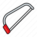 equipment, gardening, handsaw, saw, tools icon