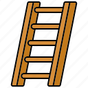 equipment, gardening, ladder, tools icon