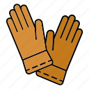 equipment, gardening, gloves, protection, workwear icon
