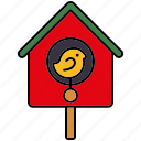 bird, bird house, equipment, gardening icon