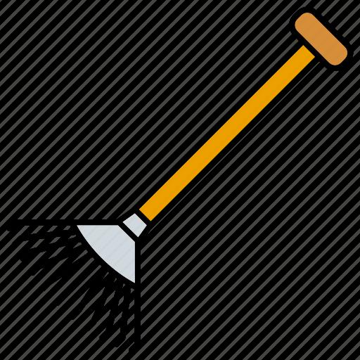 equipment, gardening, rake, tools icon
