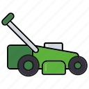 appliance, equipment, gardening, lawnmower, machine, tools icon