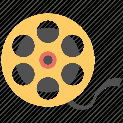 cine film, film reel, film stock, film strip, old film icon