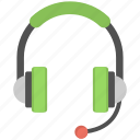 audio, earphone, headphone, headset, sound equipment icon