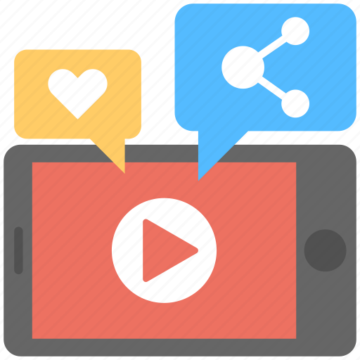 Internet sharing, internet video, social media, viral marketing, viral video icon - Download on Iconfinder