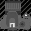 instant camera, instant film camera, polaroid camera, print camera, vintage polaroid camera icon